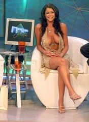 sexy TV presenter